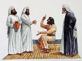 jesus e os fariseus e saduceus