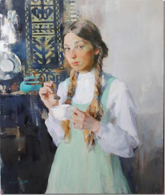 Portrait of Elizaveta-Vadim-Suvorov-ENKAUSTIKOS