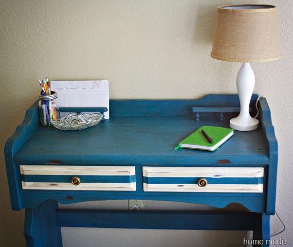 aubusson blue desk 2