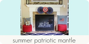 summer patriotic mantle
