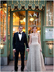 We stopped by Laduree, the patisserie that inspired much of our wedding, and then proceeded to a formal dinner at the Ritz Carlton.