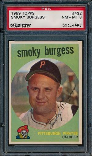 1959 Topps 432 Smoky Burgess