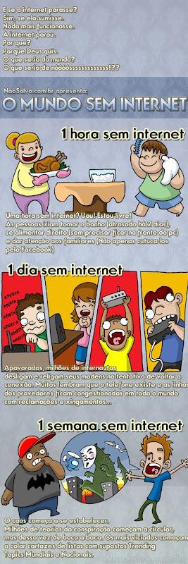 O mundo sem INTERNET - 1ª parte