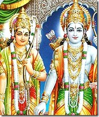 Lord Rama and Lakshmana