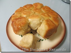 lemon glazed bubble cake - The Backyard Farmwife