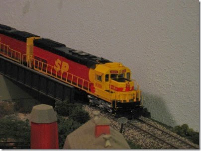 IMG_0449 Southern Pacific Kodachrome Tunnel Motors on My Layout on April 5, 2008