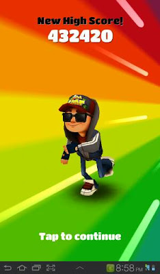 Subway Surf : New High Score