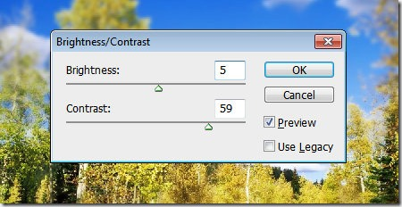brightness contrast ratio