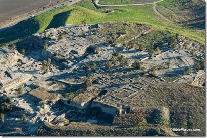 Megiddo aerial from northwest, tb121704980