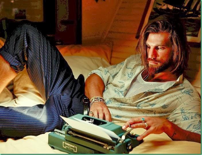 "Henrik Fallenius in ""Vida Nautica"" for GQ Brazil"