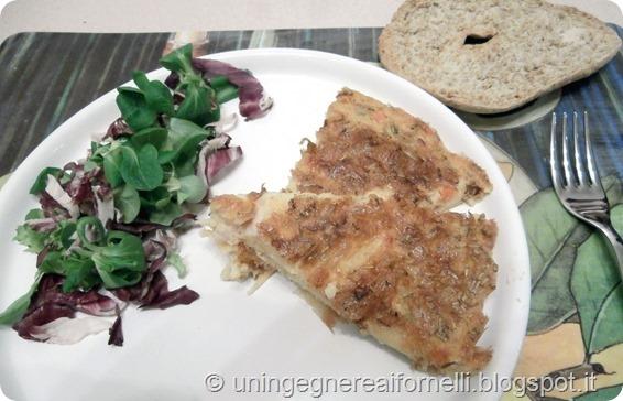frittata ceci farinata omelette chickpeas low cost vegetariana vegana vegan senza glutine senza uova
