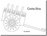 costa Rica carrte jugar ycolorear 1