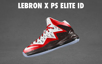 nike lebron 10 ps elite id options preview 1 03 NIKE LEBRON X PS ELITE Coming to Nike iD on April 23rd