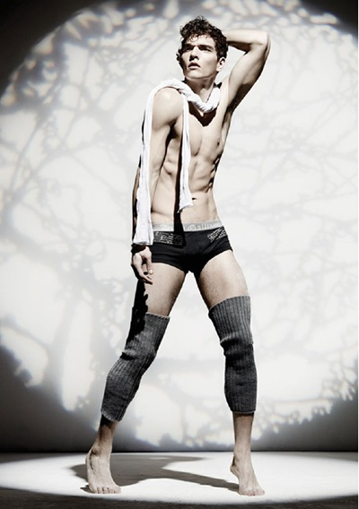 Alexandre Cunha by TBD for John Galliano underwear/lingerie lookbook, F/W 2011