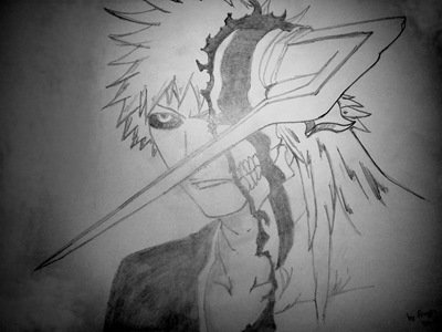 Fan Art de Ichigo por David Segura