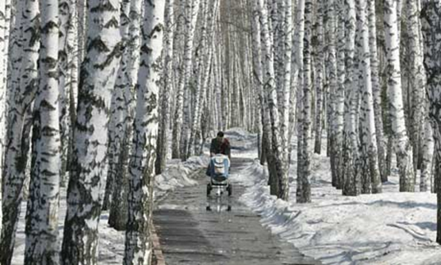 Poorly stored chemicals are a pollution risk in the Tomsk oblast, Siberia. Alexander Natruskin / Reuters
