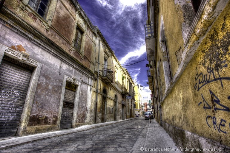 Brindisi back streets