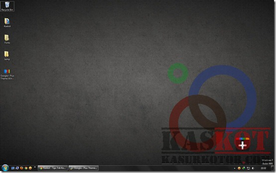 Google  Plus Theme Windows 7 -2