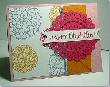 Delicate Doilies - Stampin Success case