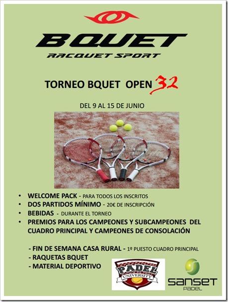 torneo open 32