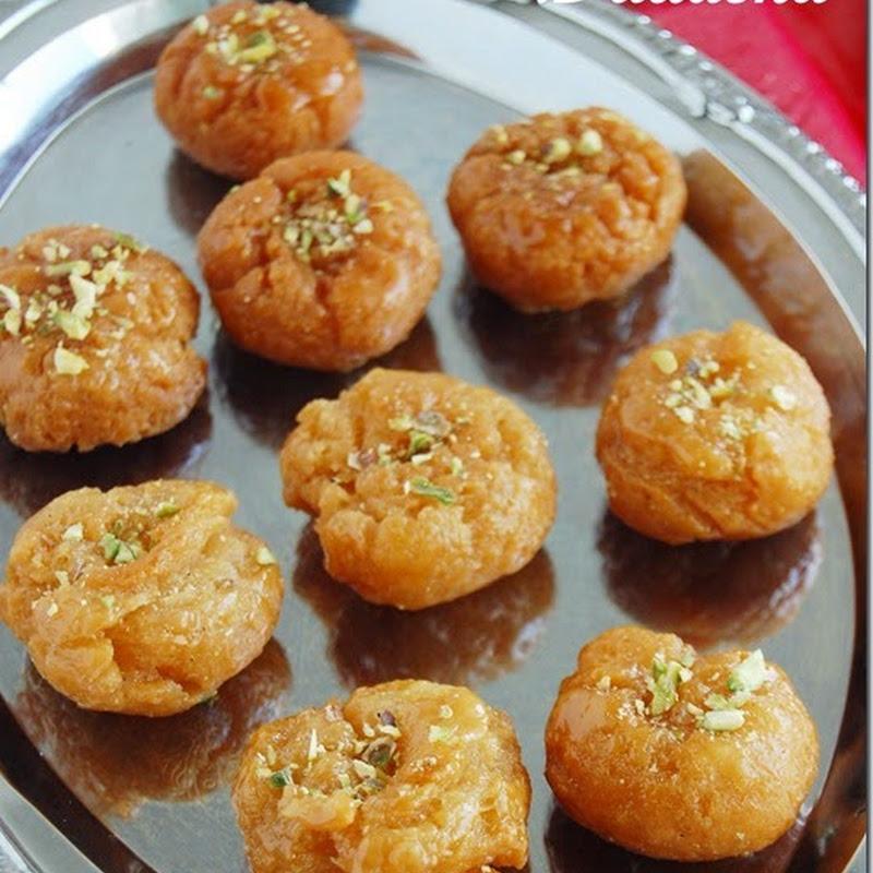Badusha / balushahi–Diwali sweets
