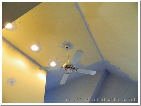 how to paint a vaulted ceiling 4