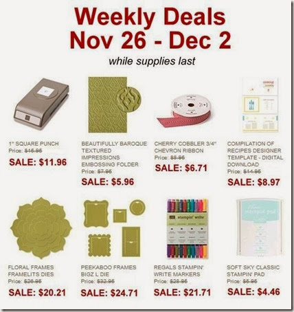 weekly Deals nov 26-dec2