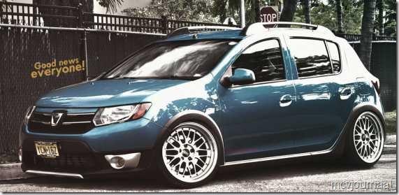 Dacia Sandero Stepway 2013 tikje aangepast 01