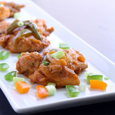 Indo-Chinese Chilli Chicken Recipe