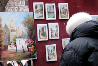 art festival display