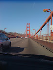 It turns out she had always wanted to visit and drive across the Golden Gate bridge.