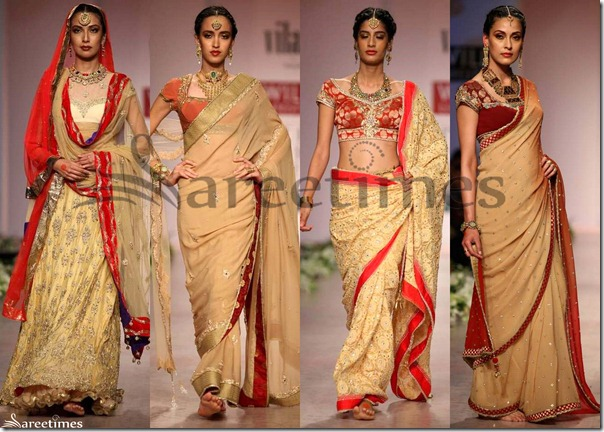 Cream_Designer_Sarees