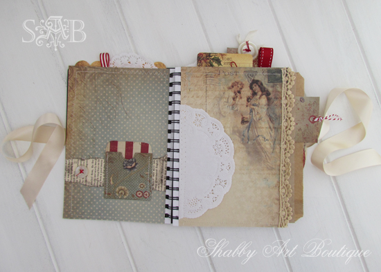 Shabby Art Boutique Christmas Planner 1