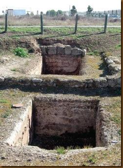 Bodega romana de Funes - Lagares