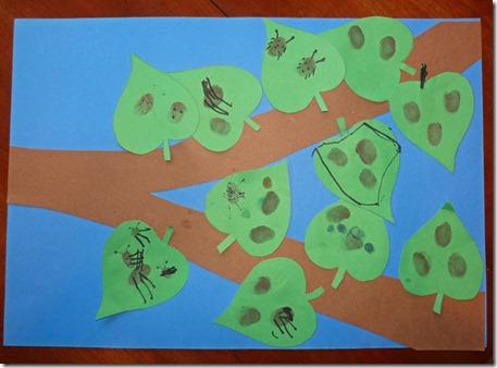Ladybug Fingerprint Art