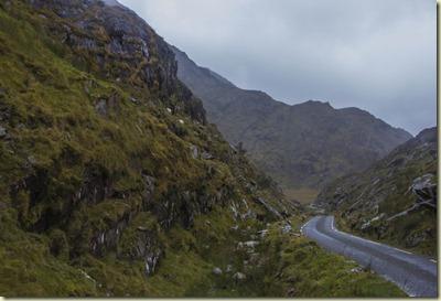 Ballagbeama Gap en el condado de Kerry