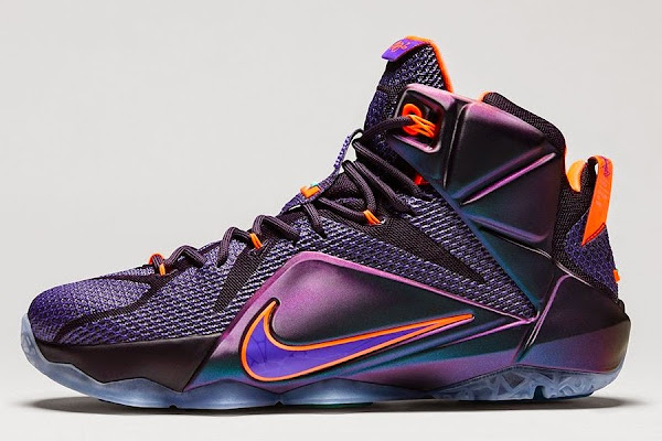 Official Look at Upcoming Nike LeBron 12 8220Instinct8221
