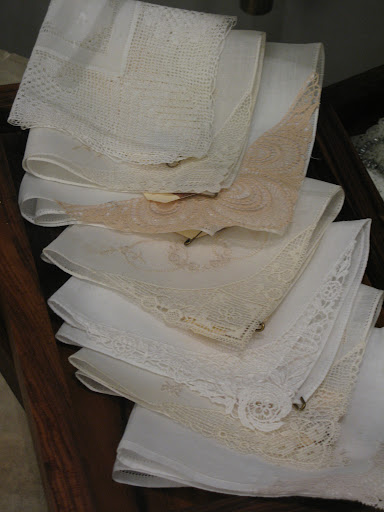 Lace hankies