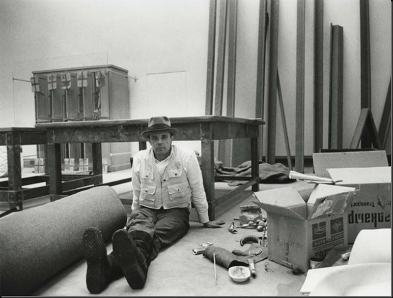 Joseph Beuys, Darmstadt, 1970