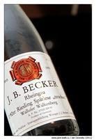 J.B. Becker 1992er Riesling Wallufer Walkenberg Spätlese trocken