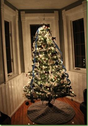 Formal Christmas Tree 004