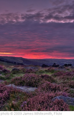 'Ilkley Moor at Dusk (2)' photo (c) 2009, James Whitesmith - license: http://creativecommons.org/licenses/by-nd/2.0/