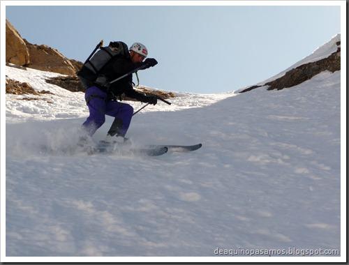 Corredor Gigolo 240m 65º IV (Cambre d'Aze 2750m, Cerdanya, Pirineos) (Omar) 0035
