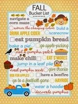 Love Bakes Good Cakes - Fall Bucket List