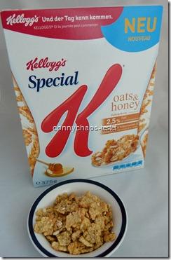 Kelloggs Special K oats&honey
