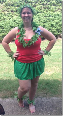 DL half costume