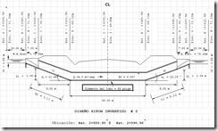Memoria de cálculo para sifones invertidos
