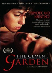 The Cement Garden - poster
