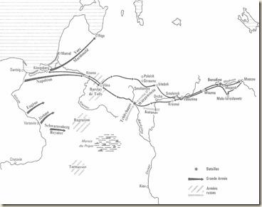 Carte générale de la campagne de 1812