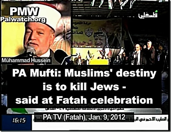 PA Mufti - Muslim Destiny Killing Jews 1-9-12